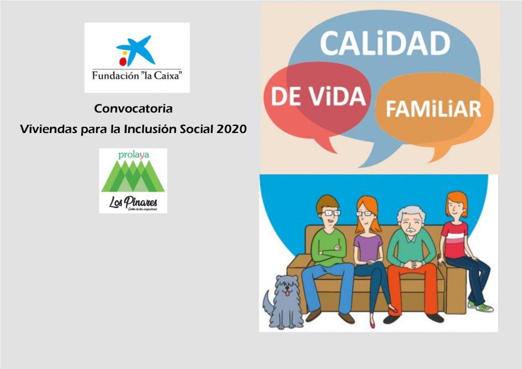 CARTEL SUBVENCION LA CAIXA 2020